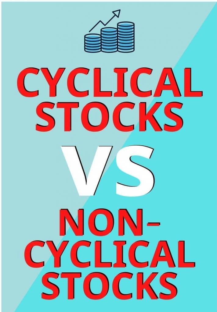 cyclical and non-cyclical stocks