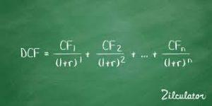 DCF formula