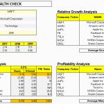Stock Health Checkup