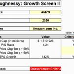 O'Shaughnessy: Growth Screen Ii