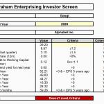 Graham--Enterprising Investor Revised