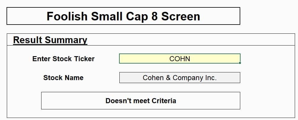 foolish small-cap 8 screen