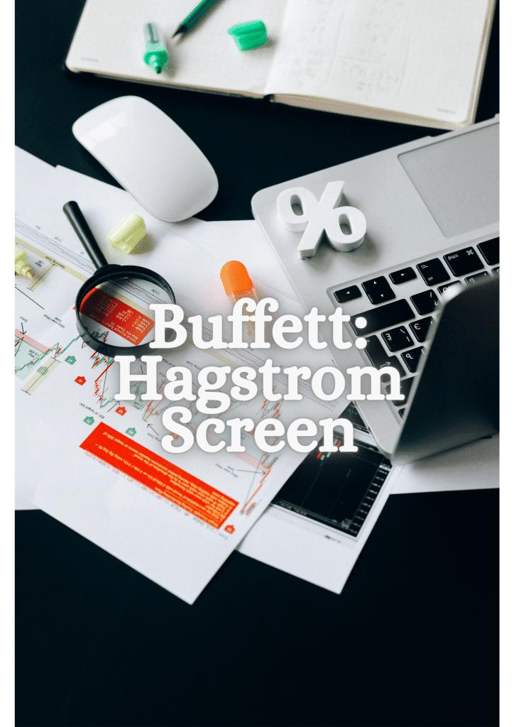Buffett Hagstrom Screen